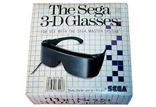 # ORIGINALE SEGA 3d glasses in OVP per Master System 1/MS 1-TOP #