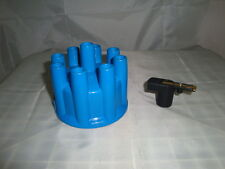 V8 distributor CAP WITH ROTOR  BUTTON FOR  FORD  HOLDEN SB CHEVY GM f2