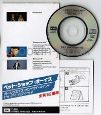 """PET SHOP BOYS Always On My Mind JAPAN 3"""" CD XP10-2002 Snapped&P/S Torn/cut FreeS"""