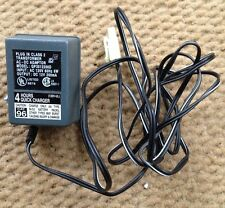 PLUG IN 120V AC ADAPTER, 12V DC OUTPUT, GP3512200D, 4 HOUR QUICK CHARGER