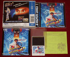 NEC PC-Engine HuCard STREET FIGHTER II 2 CHAMPION EDITION Japan Import