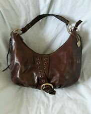 Brown Leather Handbag by Suzy Smith