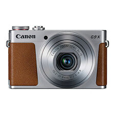 Canon PowerShot G9X 20.2MP Digital Camera 3xOptical Zoom Silver Full-HD WiFi/NFC