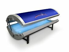 TANNING BED RelaxSun Tan - 24 RUVA Commercial Grade 100W Lamps  2400W 20 Amp New