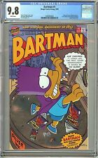 Bartman #1 (1993) CGC 9.8 White Pages 0283850026