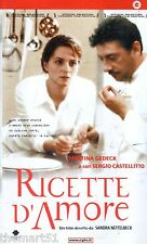 Ricette d'amore (2001) VHS CGG  1a Ed. -  UNICA in VHS in  eBay