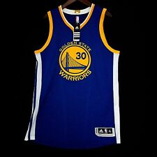 100% Authentic Stephen Steph Curry 2015 16 Warriors away Jersey Size XL 48 Mesh