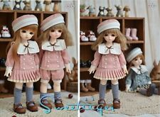 【Tii】students outfit 2 colors For BJD 1/6 YOSD DD GR DZ Doll Clothes dress