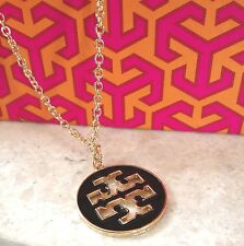 NEW Designer Style Clover Black Chain Enamel Pendant Necklace Charm Boutique