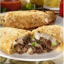 Stefano New York Style Steak and Cheese Calzone, 8 Ounce -- 12 per case.