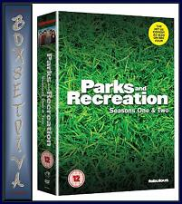 PARKS & RECREATION - COMPLETE SEASONS 1 & 2  **BRAND NEW DVD BOXSET**
