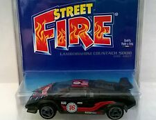 BURAGO STREET FIRE BLISTER 1:43 DIE CAST LAMBORGHINI COUNTACH 4827 MADE IN ITALY