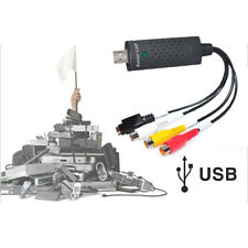 Adaptador Convertidor Adquisición Vídeo Audio USB VHS Videocámara HD Easy Nuevo