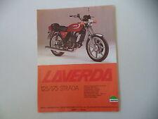 advertising Pubblicità 1978 MOTO LAVERDA LZ 125 STRADA