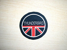 CLASSIC TRIUMPH THUNDERBIRD MOTORCYCLE EMBROIDERED PATCH