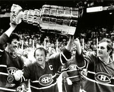 Montreal Canadiens RAISE THE CUP 1978 Lafleur, Cournoyer, Robinson POSTER Print