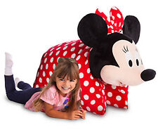 NWT Disney Parks Minnie Mouse Large JUMBO Stuffed Toy Pillow Plush HUGE Sold Out