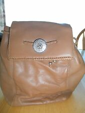 Montana Silversmith's LEATHER Silver STAR PURSE BACKPACK Cowboy Western RODEO