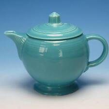 Vintage Homer Laughlin Fiesta - Original Color - Turqoise Blue Medium Tea Pot