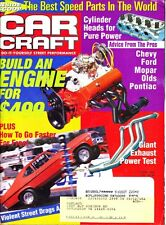 Car Craft Magazine Issue Oct 1998 Cylinder Heads for Pure Power Best Speed Parts