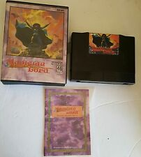 MAGICIAN LORD GAME FOR NEO GEO AES HOME SYSTEM COMPLETE IN BOX DAMAGED INSERT