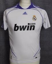 VINTAGE REAL MADRID HOME FOOTBALL SHIRT 06-07 ADIDAS RARE YOUTHS 30/32""