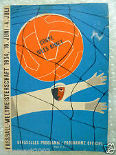 1954 World Cup URUGUAY v AUSTRIA, 3/4 Play Off in Zurich, 16 June (Original*)