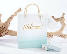 48 Personalized Beach Tides Wedding Welcome Favor Bags