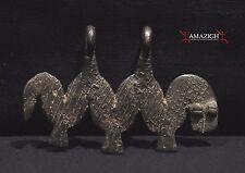 Gan Bronze Amulet  - Snake - Burkina Faso