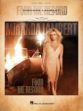 Hal Leonard Miranda Lambert - Four The Record Piano/Vocal/Guitar Songbook. Best