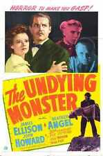 Undying Monster Poster 01 Metal Sign A4 12x8 Aluminium
