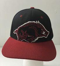 Arkansas Razorbacks Hogs Wool blend Snapback Hat Zephyr NCAA Baseball Cap
