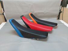 HONDA CR80R Seat Cover CR85 in  2-TONE  or 25 COLORS   2006 2007  (2pc)