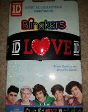 One Direction Blingkers 1 DLight-up Bracelet with LOUIS Niall ZAYN Harry LIAM