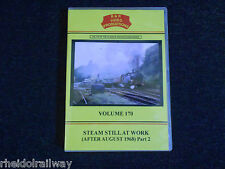 Longmoor, Steam Still at Work (after August 1968) Part 2, B & R Volume 170 DVD