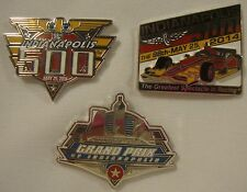 2014 Indianapolis 500 Event, Car Mount & Grand Prix of Indy Collector Lapel Pin