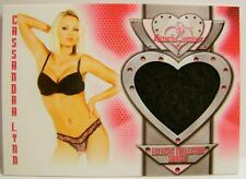 CASSANDRA LYNN BENCHWARMER ECLECTIC COLLECTION LINGERIE SWATCH CARD #14 2014