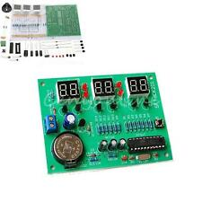 DIY Set Kit Pièce 9V-12V 6 Digital Electronique Horloge Temps Module Compasants