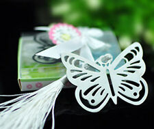 BUTTERFLY BOOKMARK Silver Metal Book Marker Reader Reading Mark Birthday Gift