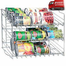 Can Rack Organizer Storage Kitchen Rack Holder Cupboard Pantry Food Cabinet Slim
