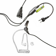 COVERT EARPIECE FOR 2 PIN MOTOROLA TALKABOUT RADIO TA200 T200 T250 T5022 SPORT