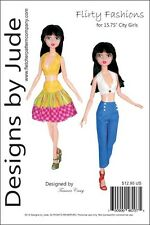 "Flirty Fashions Pattern for 15.75"" City Girls Tonner"