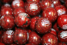 GUMBALLS BLACK CHERRY BUBBLE GUM 25mm or 1 inch (114 count), 2LBS