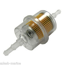 Marine Grade Inline Diesel / Petrol Fuel Filter - For Inboard & Outboard Engines