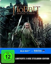 DER HOBBIT 2: SMAUG'S EINÖDE (The Desolation of Smaug) Blu-ray Disc, Steelbook