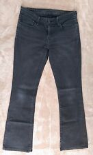 Levis eco jeans strech Skinny Boot boocut talla 36 28 gris oscuro/negro