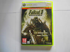 extension fallout 3 broken steel et point lookout neuf sous blister xbox 360