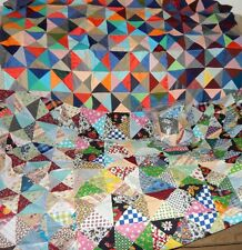 quilt top block calico floral Big Dipper Yankee Puzzle 4 patch novelty Lot piece