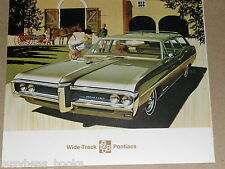 1968 Pontiac advertisement page, Pontiac Executive Safari wagon