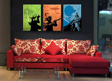 Home Decor Wall art,picture HD printed on canvas,Star Wars Man 3PC(No frame)